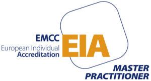 EMCC EIA logo master coach fiona day