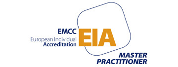EMCC EIA logo fiona day is a master coach with EMCC